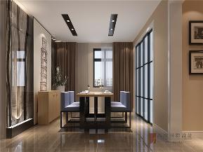 港式 三居 大户型 公寓 复式 小资 餐厅图片来自高度国际姚吉智在150平米港式三居走心的轻奢雅致的分享
