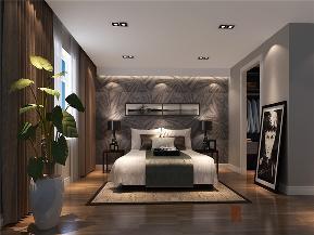 港式 三居 大户型 公寓 复式 小资 卧室图片来自高度国际姚吉智在150平米港式三居走心的轻奢雅致的分享