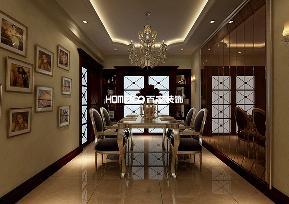 三居 翠堤湾 新古典 餐厅图片来自百家设计小刘在保利达翠堤湾120平新古典风格的分享