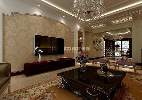 三居 翠堤湾 新古典 客厅图片来自百家设计小刘在保利达翠堤湾120平新古典风格的分享
