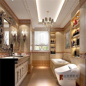 法式 新古典 别墅 跃层 大户型 复式 高帅富 卫生间图片来自高度国际姚吉智在320平米法式别墅皇家风范的品味的分享