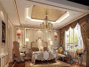 法式 新古典 别墅 跃层 大户型 复式 高帅富 卧室图片来自高度国际姚吉智在320平米法式别墅皇家风范的品味的分享