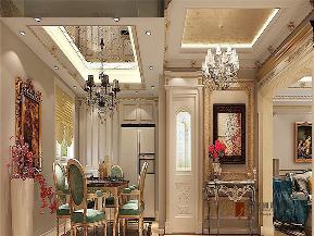 法式 新古典 别墅 跃层 大户型 复式 高帅富 餐厅图片来自高度国际姚吉智在320平米法式别墅皇家风范的品味的分享