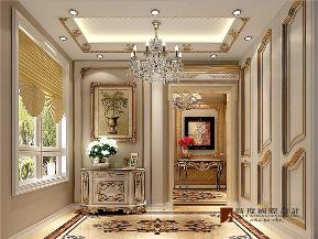 法式 新古典 别墅 跃层 大户型 复式 高帅富 玄关图片来自高度国际姚吉智在320平米法式别墅皇家风范的品味的分享