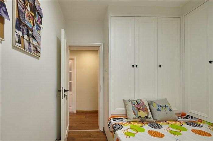 混搭 简约 旧房改造 收纳 小资 北欧 卧室图片来自盒子设计在未末的分享
