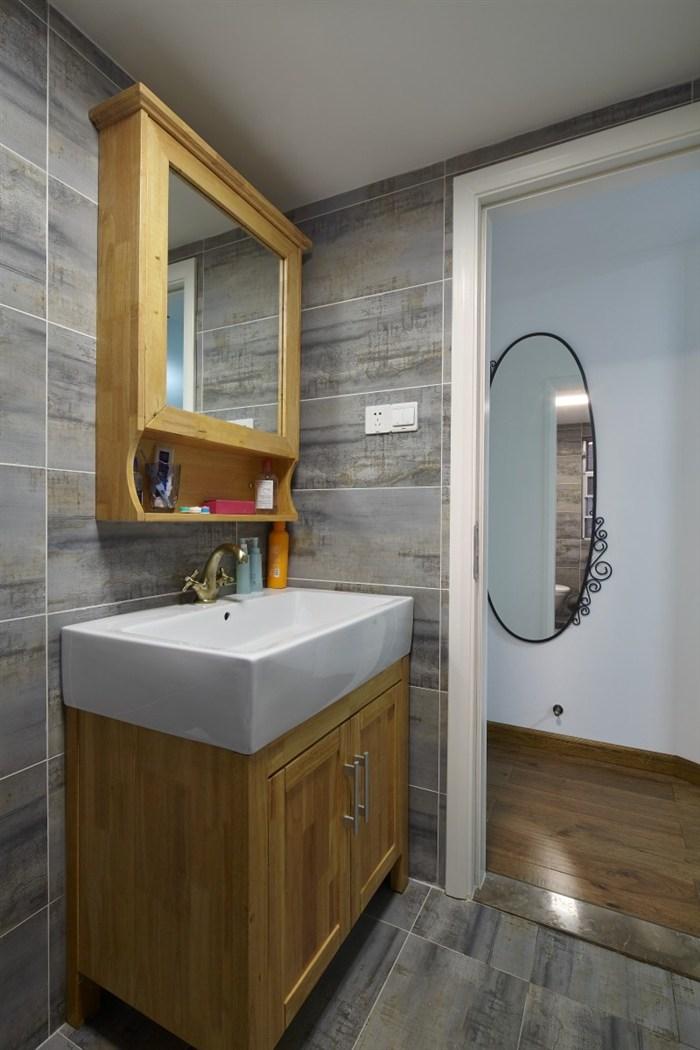 混搭 简约 旧房改造 收纳 小资 北欧 卫生间图片来自盒子设计在未末的分享