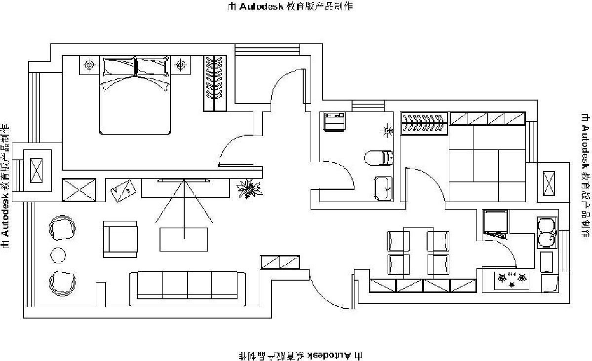 紫云台94平现代简约
