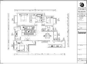 鲁班装饰 新古典 三居室 装修设计 效果图 客厅 餐厅 电视墙 卧室 其他图片来自西安鲁班装饰设计在梧桐苑三居室160平米新古典风格的分享