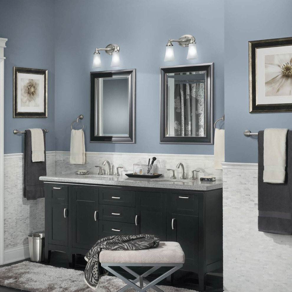 Top Designers Ideal Wall Paint Hues For Bathrooms