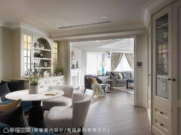 柔色暖意 208平优雅美式古典宅