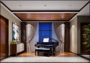 别墅 中式 玄关图片来自李飞在富春山居新中式别墅的分享