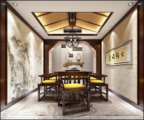 别墅 中式 其他图片来自李飞在富春山居新中式别墅的分享