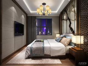 中式 新中式 二居 小资 收纳 卧室图片来自阳光力天装饰在力天装饰-夏洛兹花园-124.31㎡1的分享