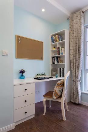 80后 二居 书房图片来自甘肃紫苹果装饰在兰州金华苑88㎡现代美式装修案例的分享