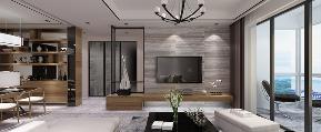 简约 欧式 混搭 三居 别墅 旧房改造 80后 客厅图片来自陕西峰光无限装饰在龙腾万都汇的分享