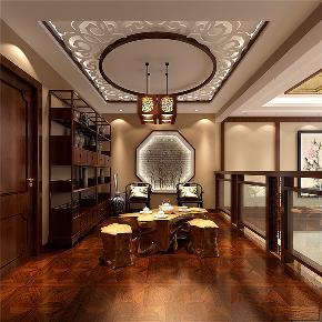 中式 别墅 复式 跃层 大户型 小资 其他图片来自高度国际姚吉智在首创国际半岛220㎡演绎中国经典的分享