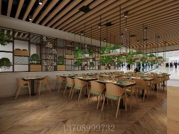 青岛阔达装饰:餐厅设计