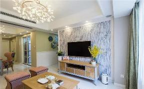 美式 客厅图片来自tjsczs88在华润橡树湾美式混搭的分享
