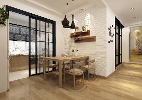 欧式 二居 峰光无限 餐厅图片来自西安峰光无限装饰在雅居乐湖笔记二居94平米北欧的分享