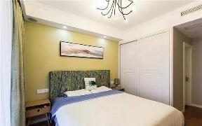 美式 卧室图片来自tjsczs88在华润橡树湾美式混搭的分享