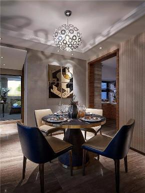 简约 现代 三居 四居 大户型 复式 80后 小资 餐厅图片来自高度国际姚吉智在155平米后现代时尚新颖的奢华的分享
