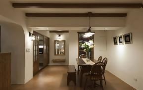 简约 二居 餐厅图片来自唯真装饰在幸福时代温馨甜蜜二居室的分享