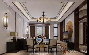 客厅图片来自高度国际设计小雅在龙山新新小镇的分享