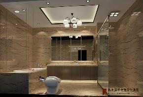 卫生间图片来自高度国际设计小雅在龙山新新小镇的分享