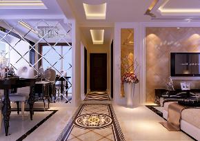 餐厅图片来自沈阳百家装饰小姜在兴隆御府135平欧式风格效果图的分享