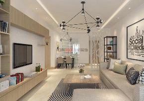 现代风格 沈阳装修 装修设计 室内设计 旧房改造 客厅图片来自百家装饰--小莹在龙湖唐宁one 83平现代风格的分享