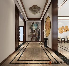 玄关图片来自高度国际设计小雅在龙山新新小镇的分享