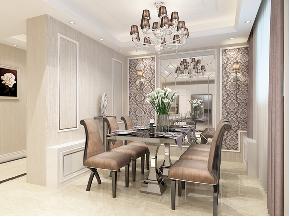 欧式 简约 混搭 别墅 白领 收纳 80后 小资 餐厅图片来自圣奇凯尚室内设计工作室在圣奇凯尚装饰-滟澜新宸欧式的分享