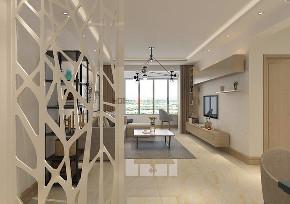 现代风格 沈阳装修 装修设计 室内设计 旧房改造 玄关图片来自百家装饰--小莹在龙湖唐宁one 83平现代风格的分享