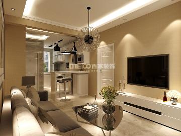 昆山豪庭82平港式风格