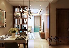 餐厅图片来自沈阳百家装饰小姜在百家装饰—万锦紫园77平现代风格的分享