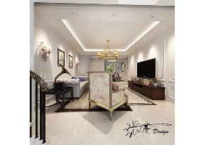 客厅图片来自沈阳百家装饰小姜在中金启城146平简美风格的分享