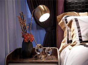 简约 现代 三居 四居 大户型 复式 80后 小资 卧室图片来自高度国际姚吉智在155平米后现代时尚新颖的奢华的分享