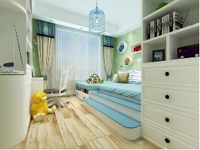 欧式 简约 混搭 别墅 白领 收纳 80后 小资 儿童房图片来自圣奇凯尚室内设计工作室在圣奇凯尚装饰-滟澜新宸欧式的分享