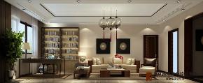 中式 书房图片来自高度国际设计小雅在龙山新新小镇的分享