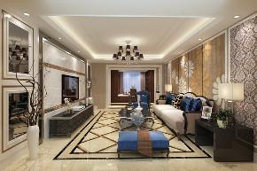 欧式 简约 混搭 别墅 白领 收纳 80后 小资 客厅图片来自圣奇凯尚室内设计工作室在圣奇凯尚装饰-滟澜新宸欧式的分享