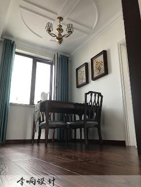 三居 中城嘉汇 简美 餐厅图片来自实创装饰小彩在中城嘉汇149平三居室简美装修的分享