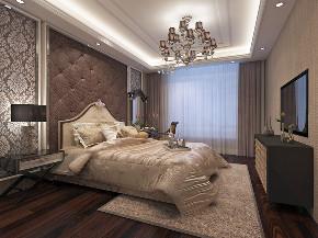 欧式 简约 混搭 别墅 白领 收纳 80后 小资 卧室图片来自圣奇凯尚室内设计工作室在圣奇凯尚装饰-滟澜新宸欧式的分享