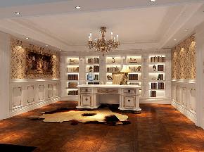 书房图片来自高度国际设计小雅在金科王府200的分享