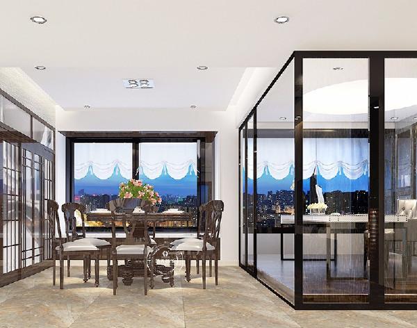 在现代港式风格中,大量运用钢化玻璃、不锈钢等新型材料,独特的装饰手法,给人一种不受拘束和束缚的感觉,符合香港先进的思想文化。在这样的环境下,房子不仅要住得舒适,还有个性的追求。