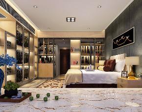混搭 卧室图片来自深圳浩天装饰在浩天装饰-博林天瑞的分享