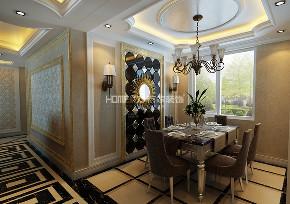 餐厅图片来自沈阳百家装饰小姜在中海寰宇148平欧式风格的分享