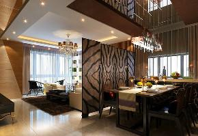 简约 三居 峰光无限 餐厅图片来自我是小样在太奥广场三居108㎡现代简约风格的分享