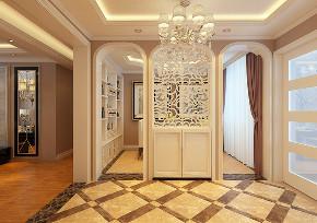 玄关图片来自沈阳百家装饰小姜在金地艺境135平欧式风格的分享