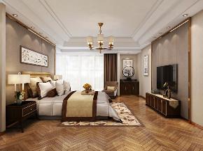简约 欧式 田园 三居 别墅 白领 旧房改造 80后 收纳 卧室图片来自日升装饰秋红在西安天鹅堡新中式风格赏析的分享