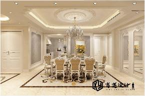 别墅 欧式 鲁邦 悦海豪庭 餐厅图片来自实创装饰小彩在鲁邦悦海豪庭260平欧式风格别墅的分享